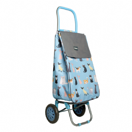 Sabichi Shopping Trolley - Crazy Cats